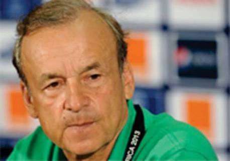 Rohr Replaces Injured Balogun With Agbo For Zambia Clash