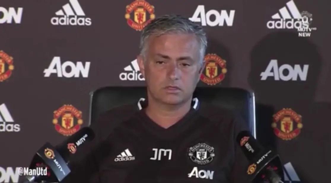 Mourinho Okays Man United Squad, Unruffled Over Europa Opponents