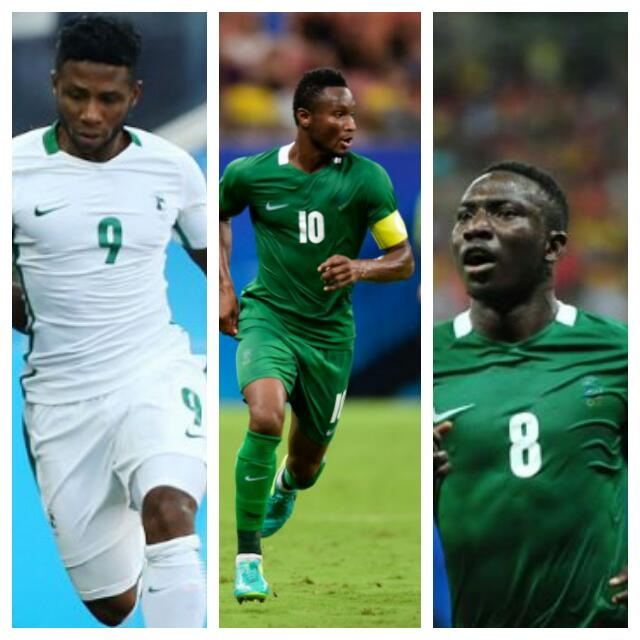 Mikel, Etebo, Ezekiel Up For Complete Sports Player Of August