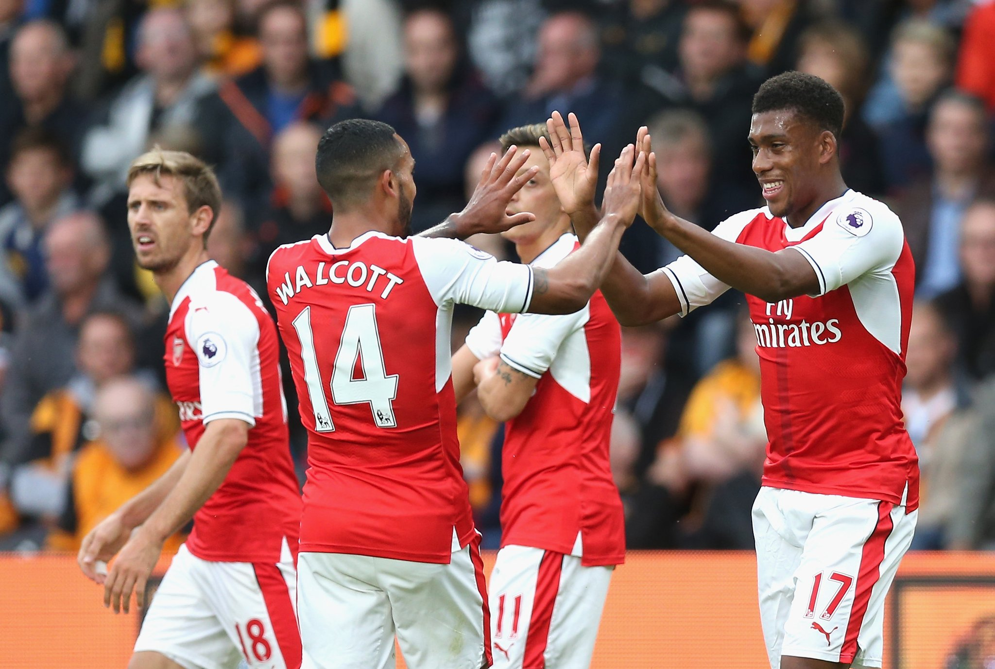 Iwobi Stars In Arsenal Win, Musa Benched As Leicester Thrash Burnley