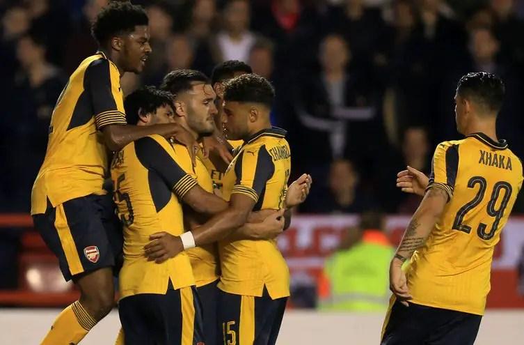 Akpom Wants To Make Arsenal Progress Like Iwobi