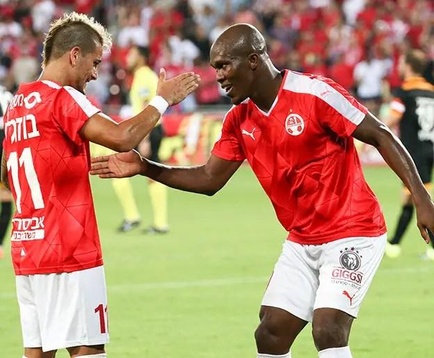 Europa: Nwakaeme Scores, Ogu Stars In Hapoel Win; Esiti, Simon In Action