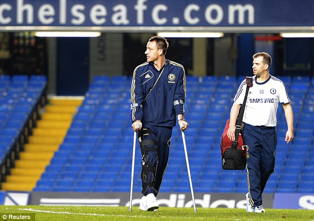 Terry Out For 10 Days, To Miss Liverpool Clash