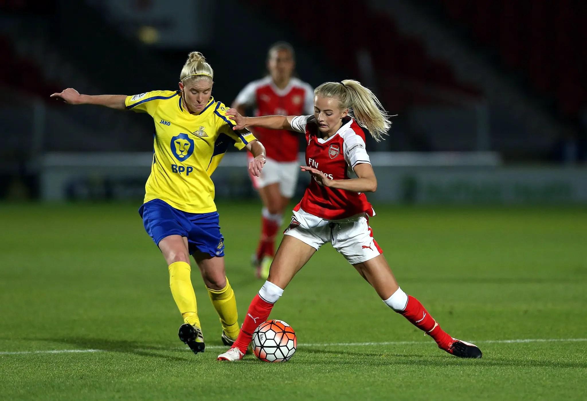 Oshoala Benched As Arsenal Ladies Thrash Doncaster Ladies