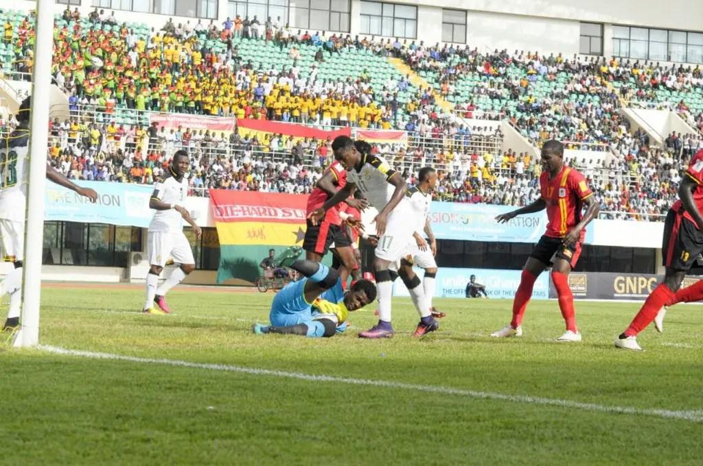 Uganda Frustrate Hosts Ghana In Russia 2018 Qualifier