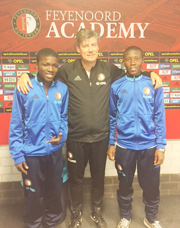 Shell Cup Best Players Relive Netherlands, Feyenoord Experience