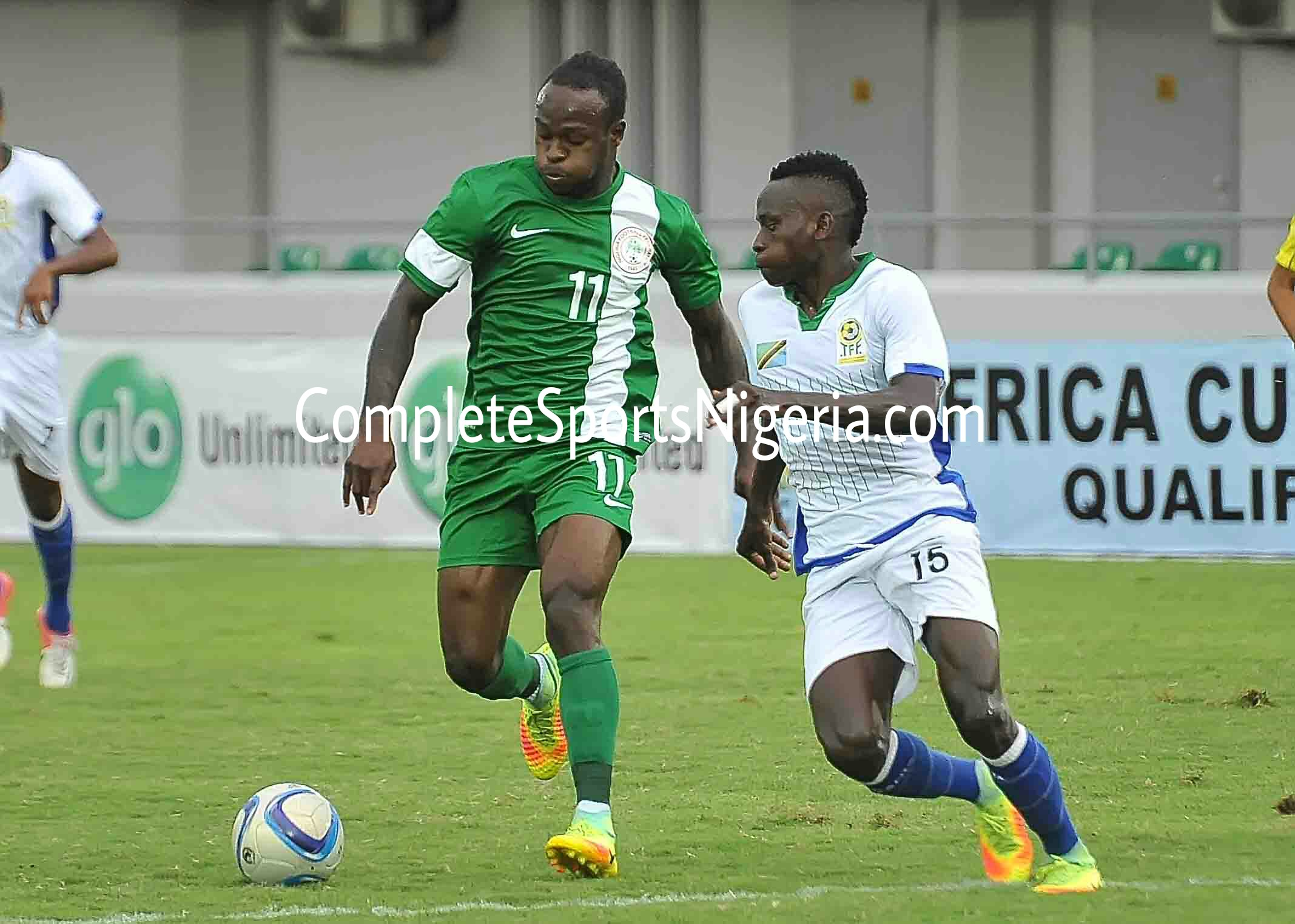 Moses Suffers Hamstring Injury, Doubtful For Zambia Clash