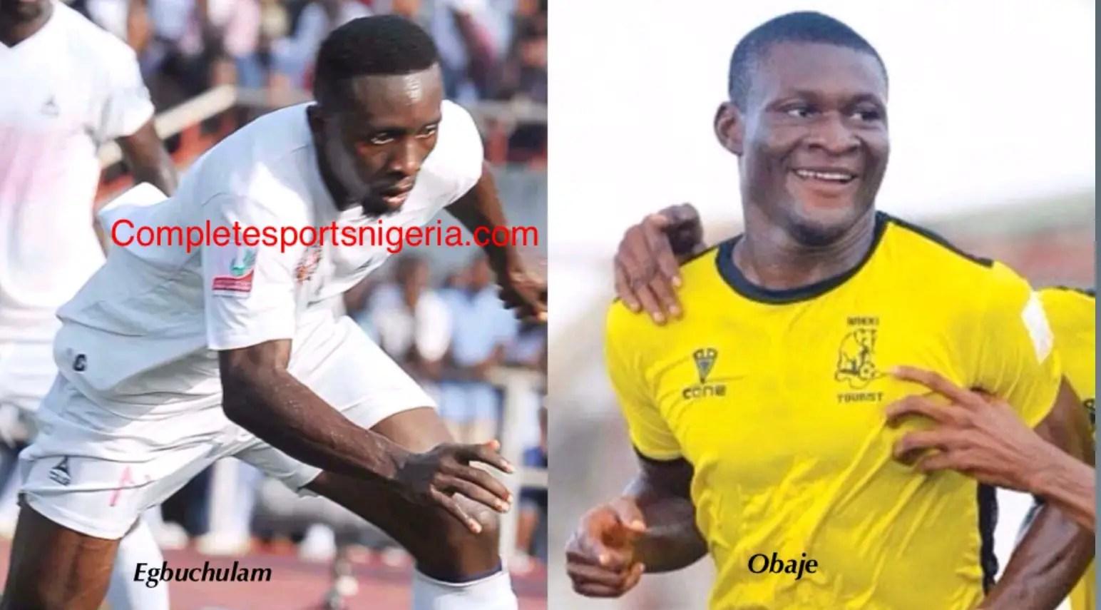 Obaje, Egbuchulam Happy With Super Eagles Invitation