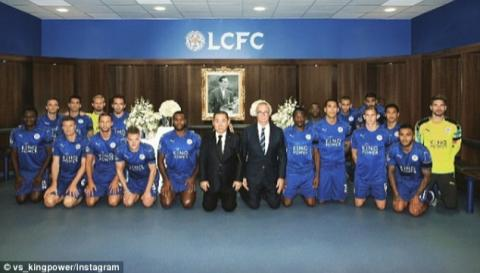 Musa, Leicester Stars Mourn Late Thailand King
