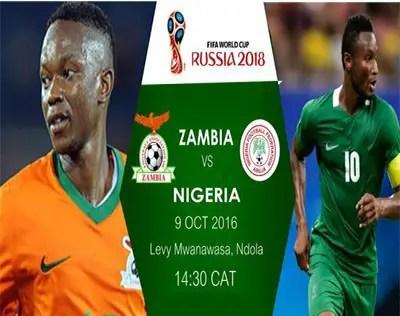 LIVE BLOGGING: Zambia vs Nigeria