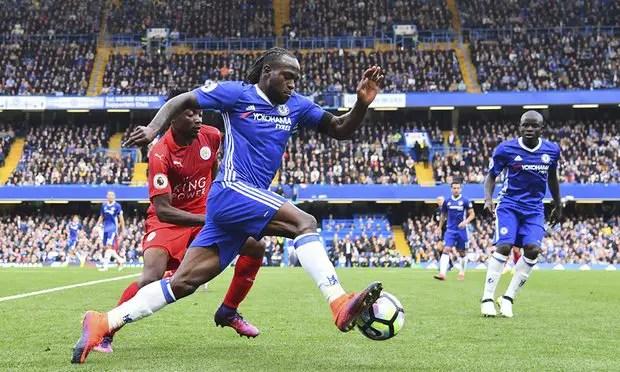 Barcelona Monitor Moses, Plot Move For Chelsea Star
