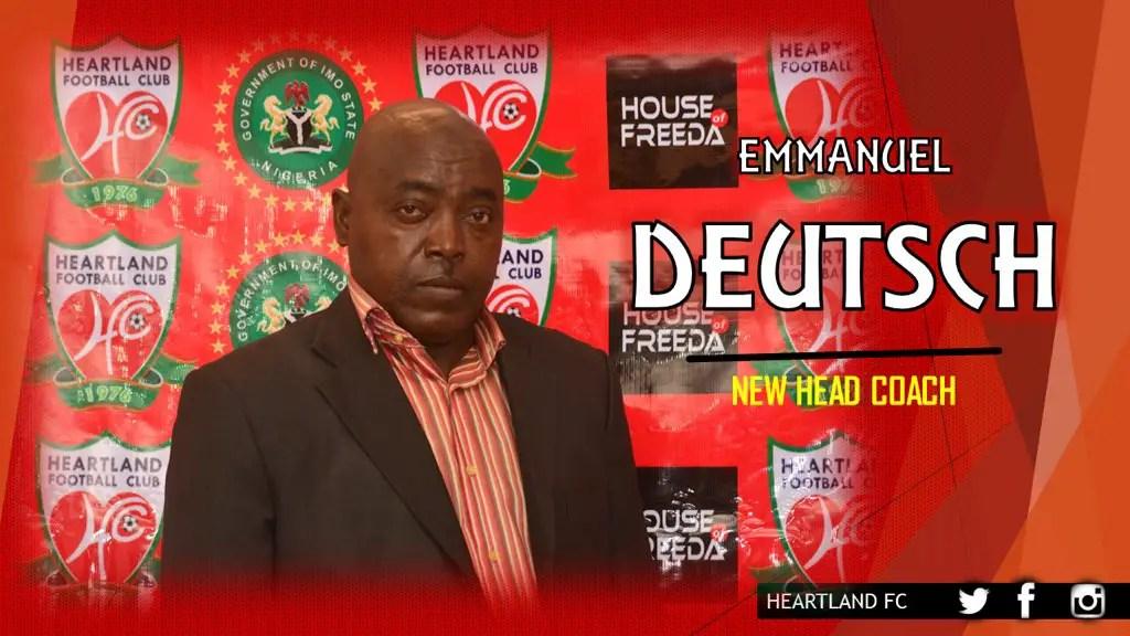 Heartland Appoint Cameroonian Deutsch As New Coach
