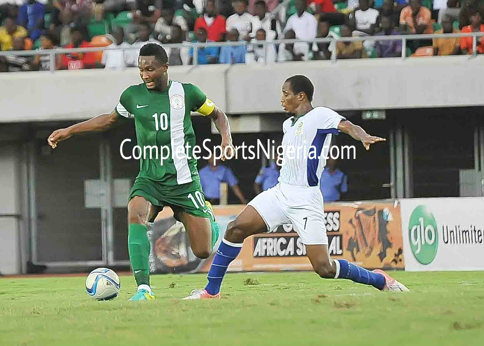 Mikel: Eagles Are Strong, But We Must Respect Algeria
