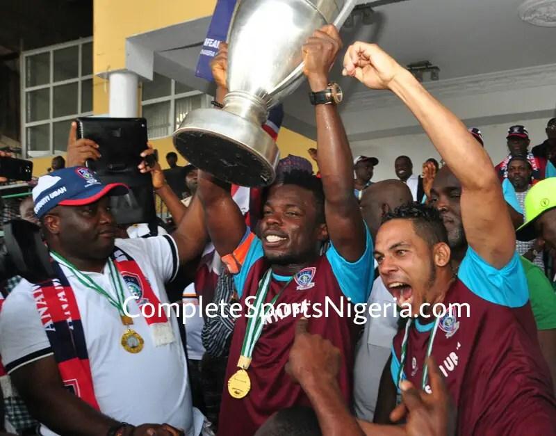 FC IfeanyiUbah Postpone Federation Cup Victory Parade