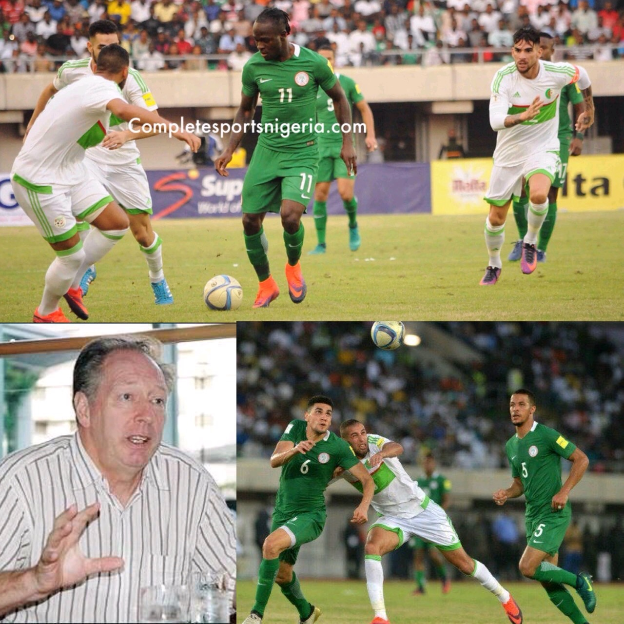 Bonfrere Jo: Super Eagles Punished Algeria For Stupid Tactics