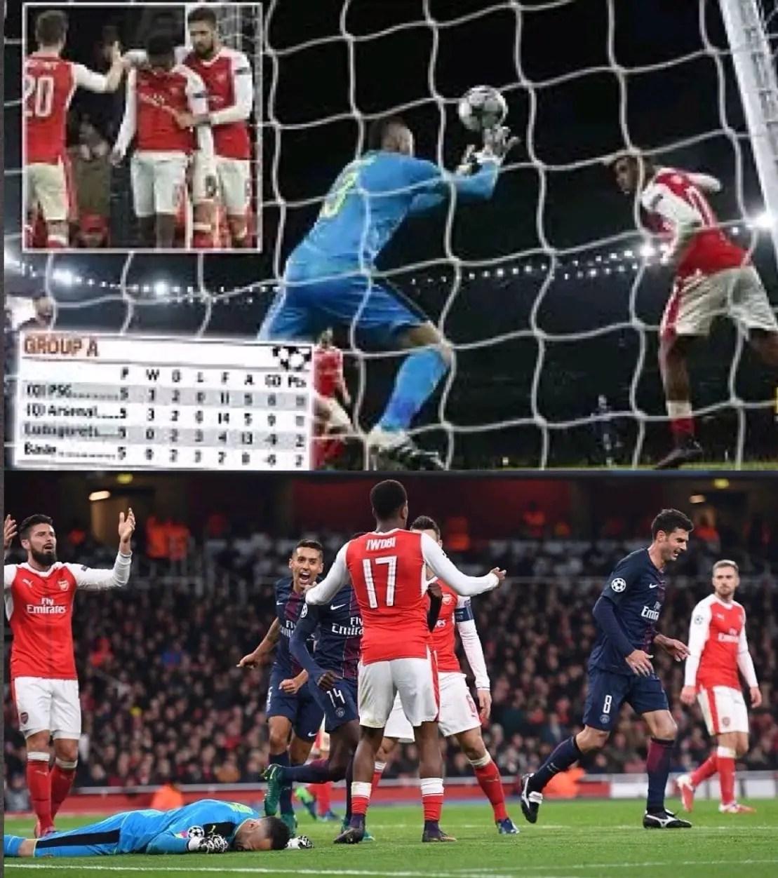 Barnes:Iwobi'sArsenal Own Goal Vs PSG Unfortunate