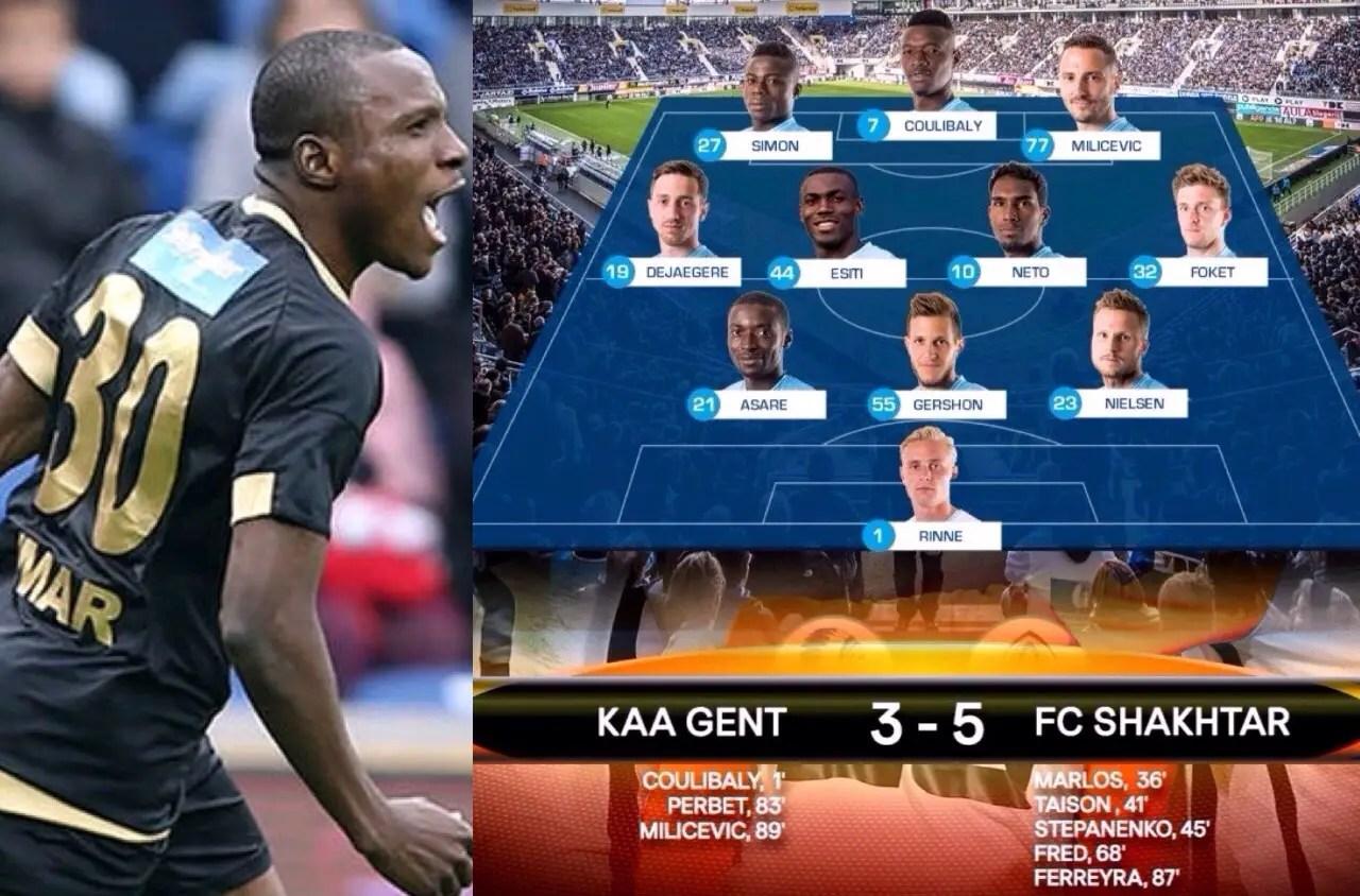 Europa: Umar Stars In Osmanlıspor Win; Simon, Esiti In Action As Gent Lose