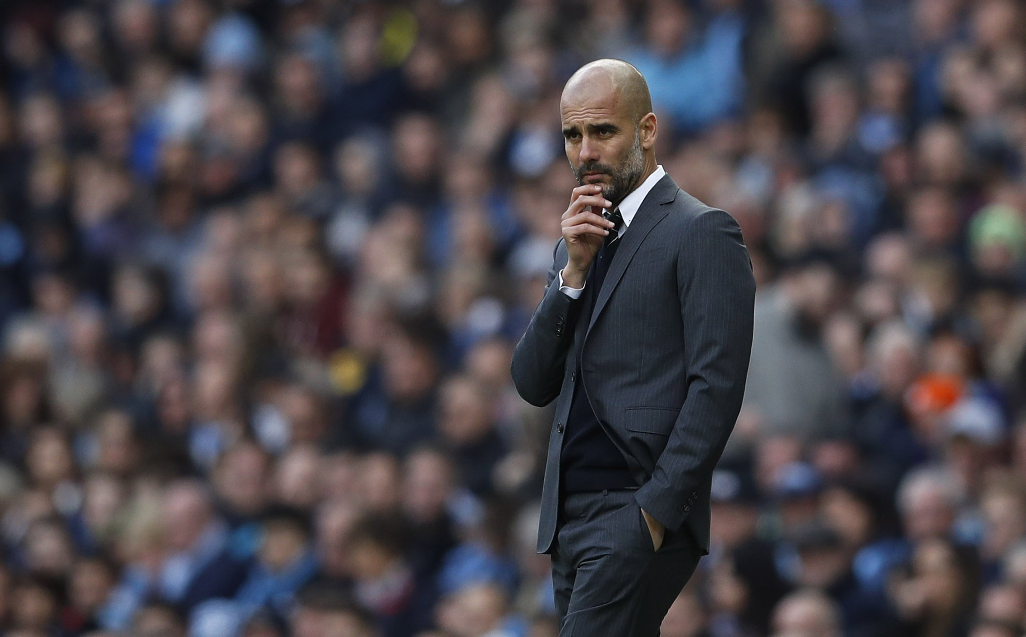 Guardiola Rules Silva Out Of Manchester Derby; Aguero, Jesus Ready To Play