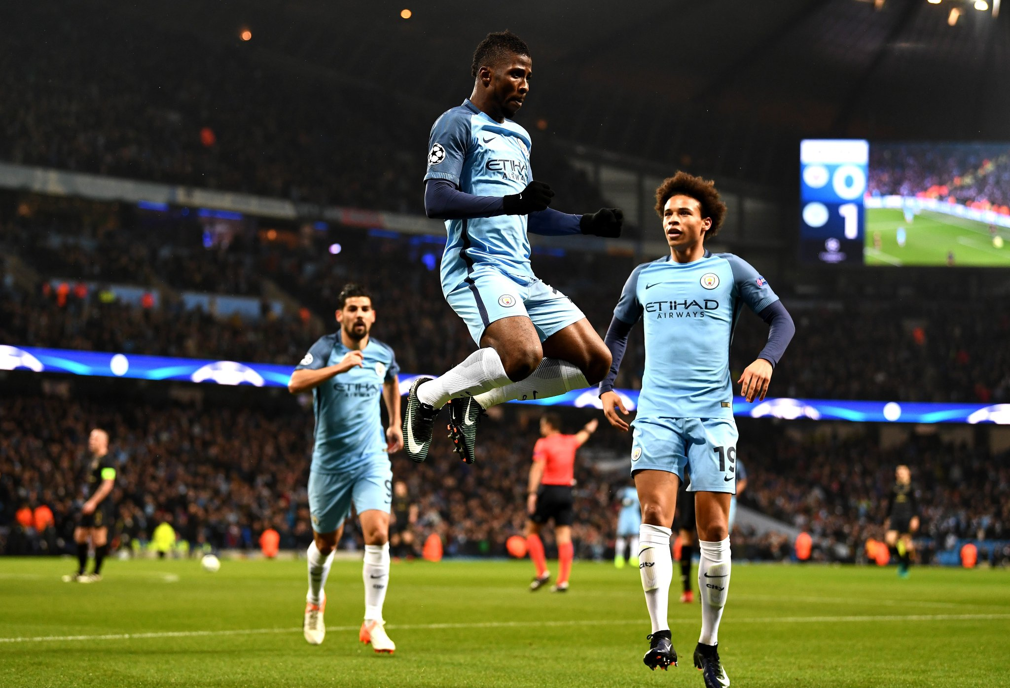 Iwobi Scores First UCL Goal As Iheanacho Rescues City; Ludo Shock PSG