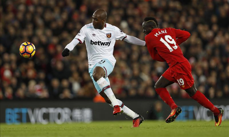 Resilient West Ham Force Liverpool To Anfield Draw