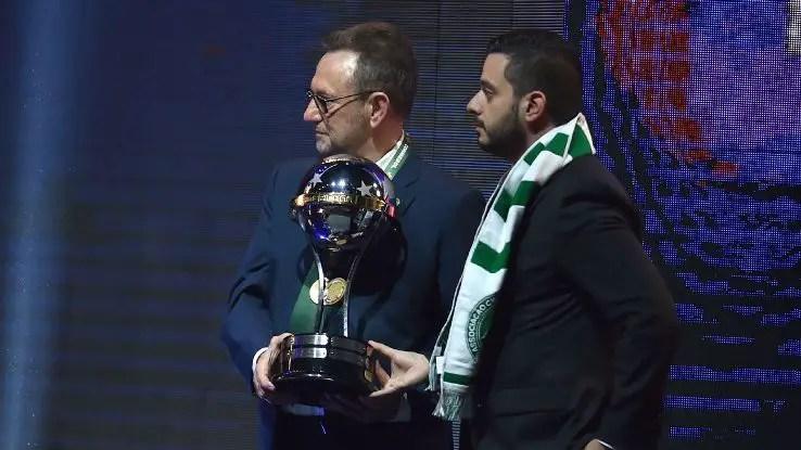 Tragic Chapecoense Officially Handed Copa Sudamericana Trophy