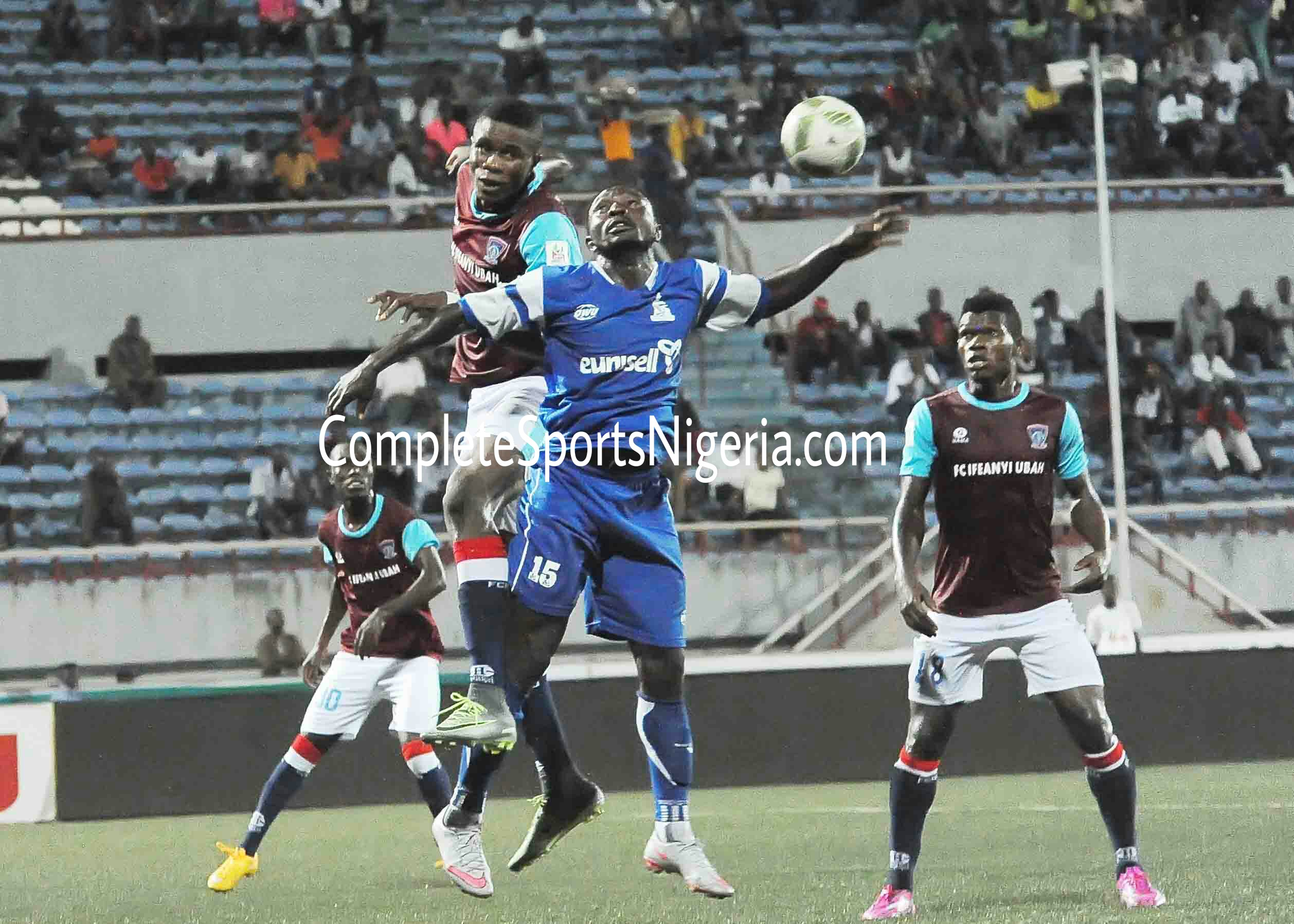 Rangers, Rivers United, Wikki, IfeanyiUbah Draw Tough CAF Opponents