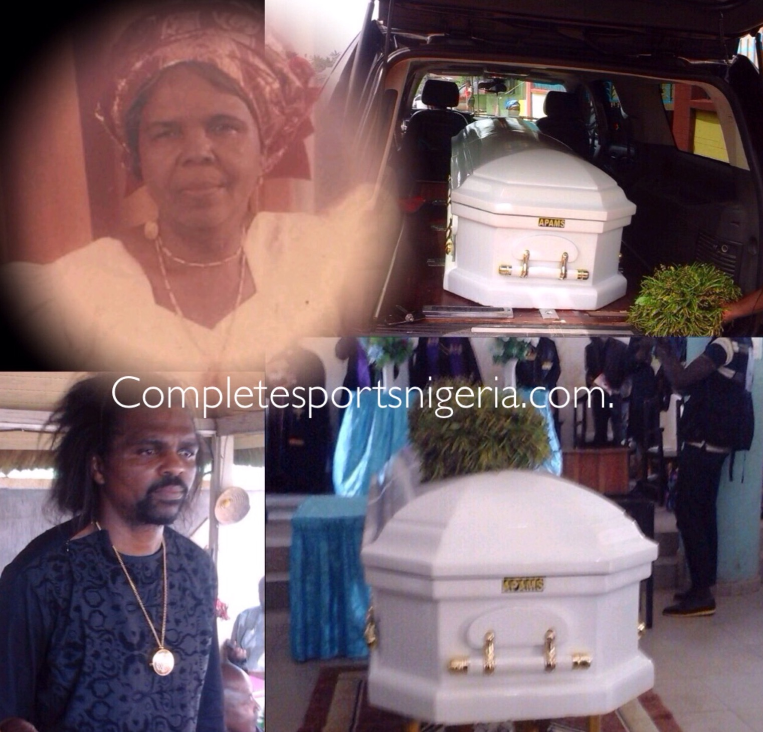 Late Kanu's Mother Begins Final Journey Home