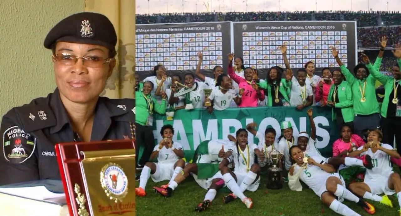 Odegbami: Celebrating Chioma Ajunwa And The Super Falcons!