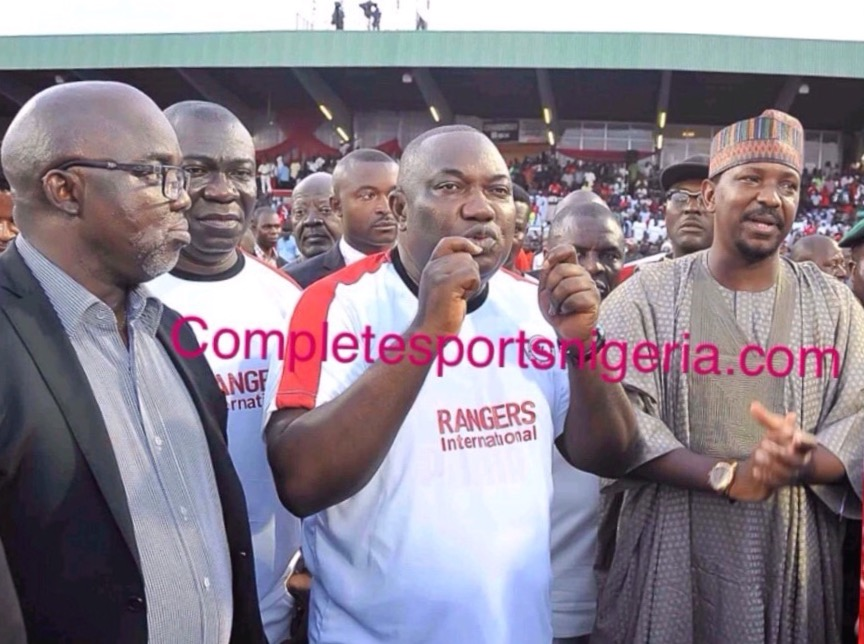 Governor Ugwuanyi Hosts NPFL Champions Rangers December 19