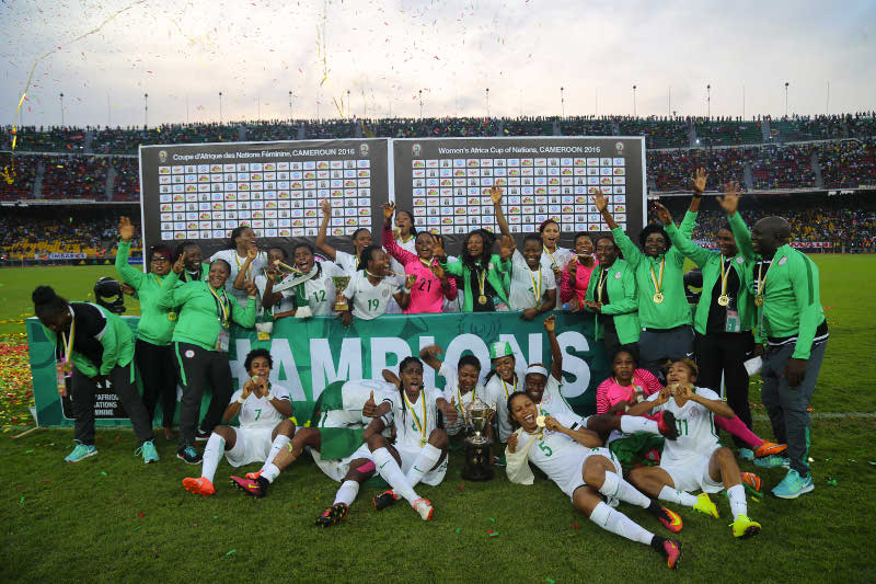 Banyana Skipper Van Wyk Congratulates Super Falcons on Glo/CAF Award
