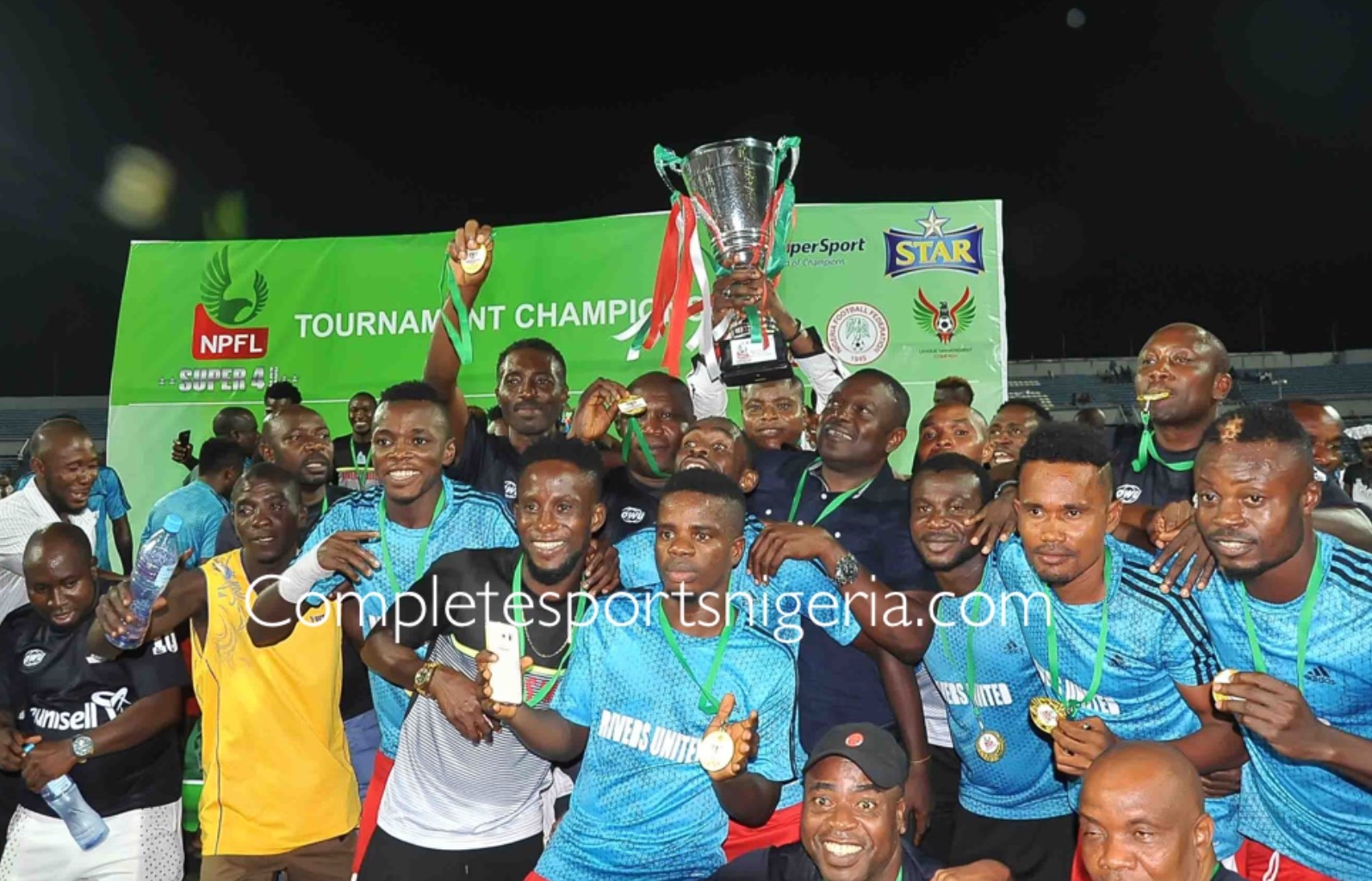 Rivers United GM, Kpalukwu: We're Not Favourites For NPFL Title