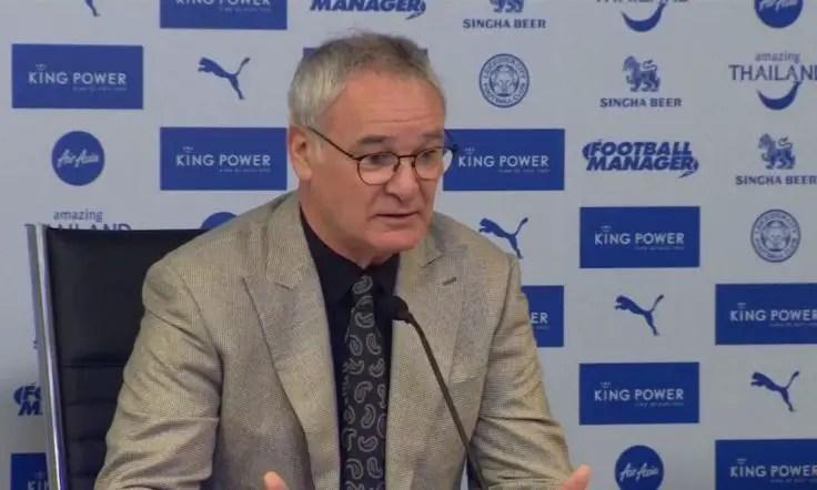 Ranieri: I Haven't Seen Ndidi, I Don't Know Him