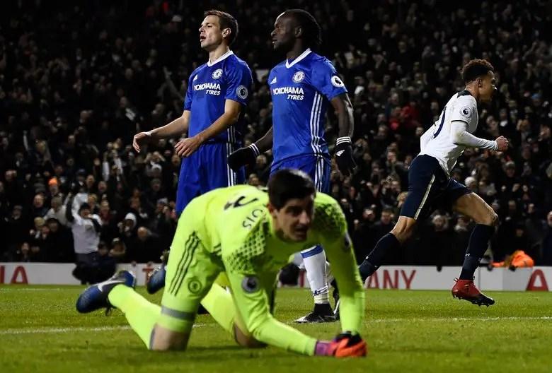 Souness Blames Moses, Azpilicueta For Chelsea Defeat Vs Spurs