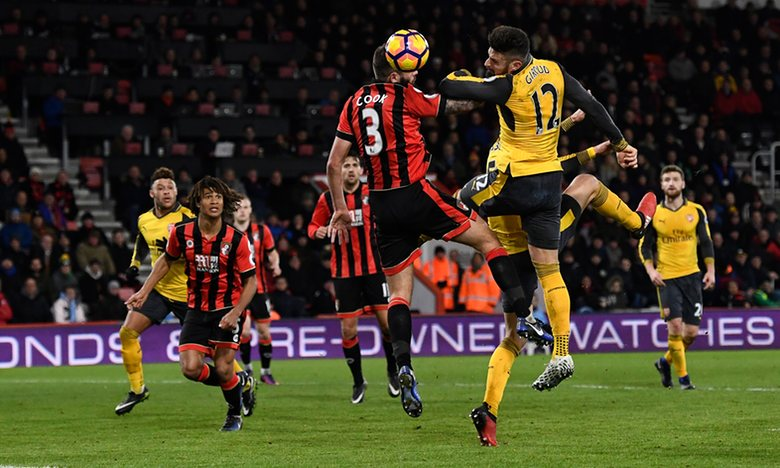 Giroud, Sanchez Inspire Arsenal Fightback Vs 10-Man Bournemouth