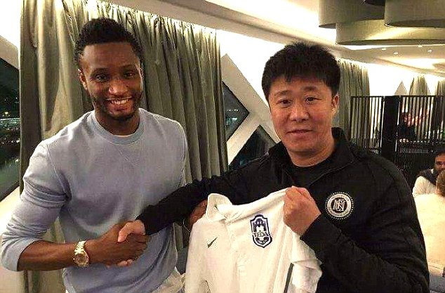 Mikel Confirms China Move, Writes Chelsea Fans