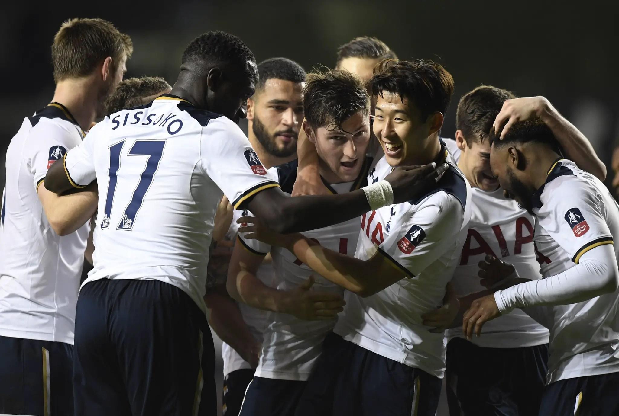 FA Cup: Davies, Son Score As Spurs Knock Out Villa