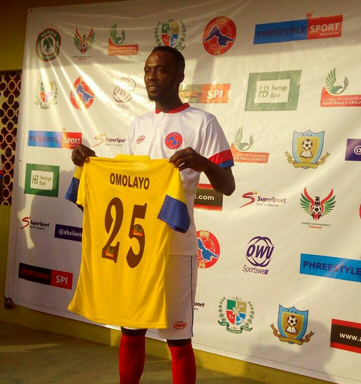 ABS Defender Omolayo: I Won't Celebrate If I Score Against Tornadoes