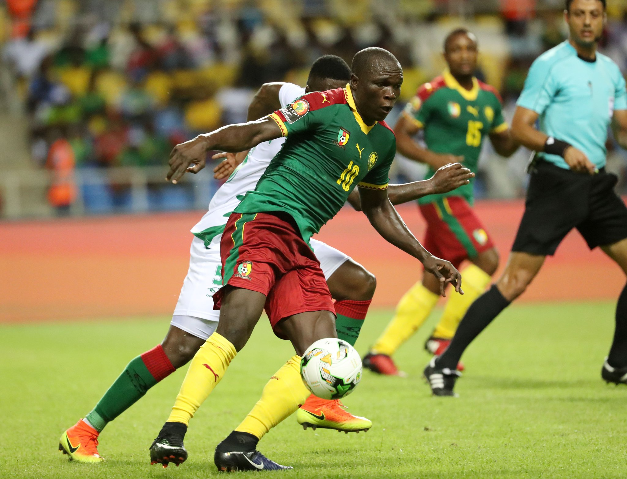AFCON: Cameroon Claim Comeback Win Over Guinea Bissau, Top Group A