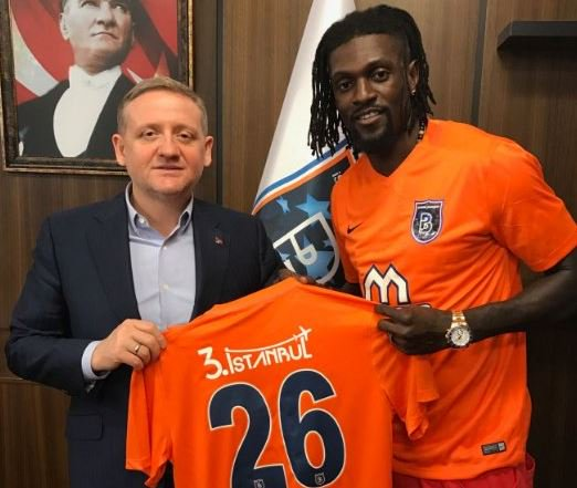 Adebayor Joins Turkish Title Challengers Istanbul Basaksehir