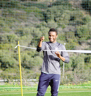 Mikel joins Tianjin TEDA In First Training Session