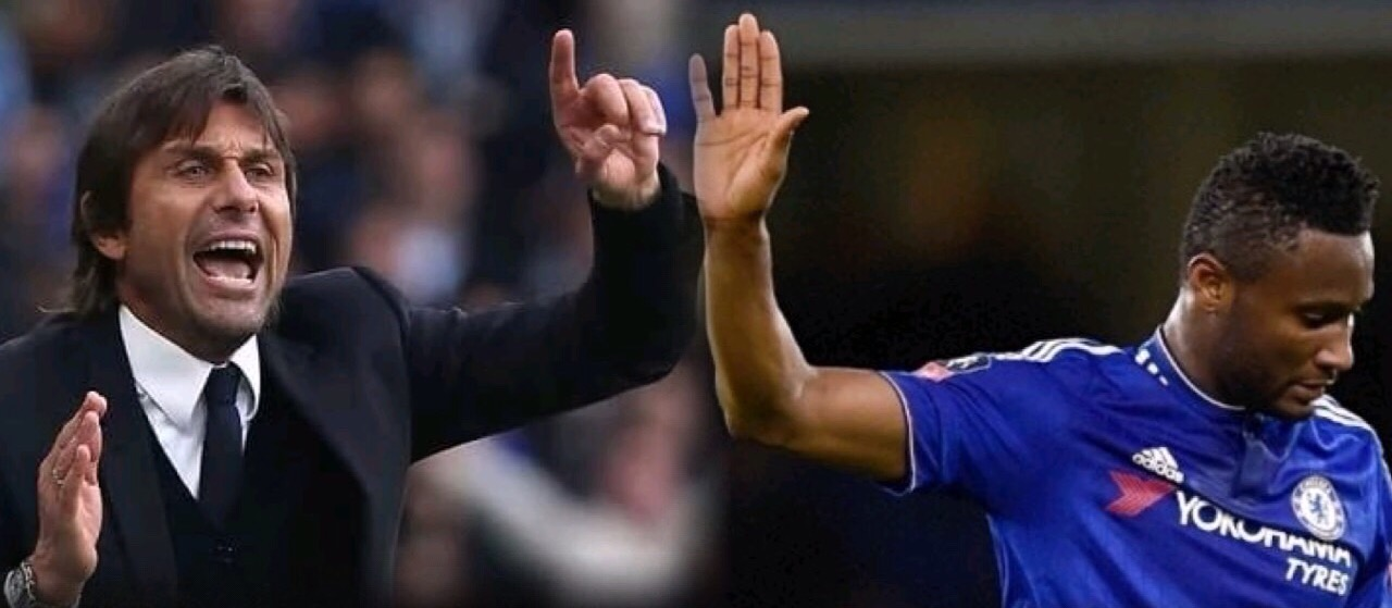 Conte Wishes Departing Mikel Well, Focuses On Chelsea Vs Peterborough
