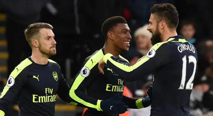Iwobi Thrilled with Arsenal's Impressive Away win vs Swansea