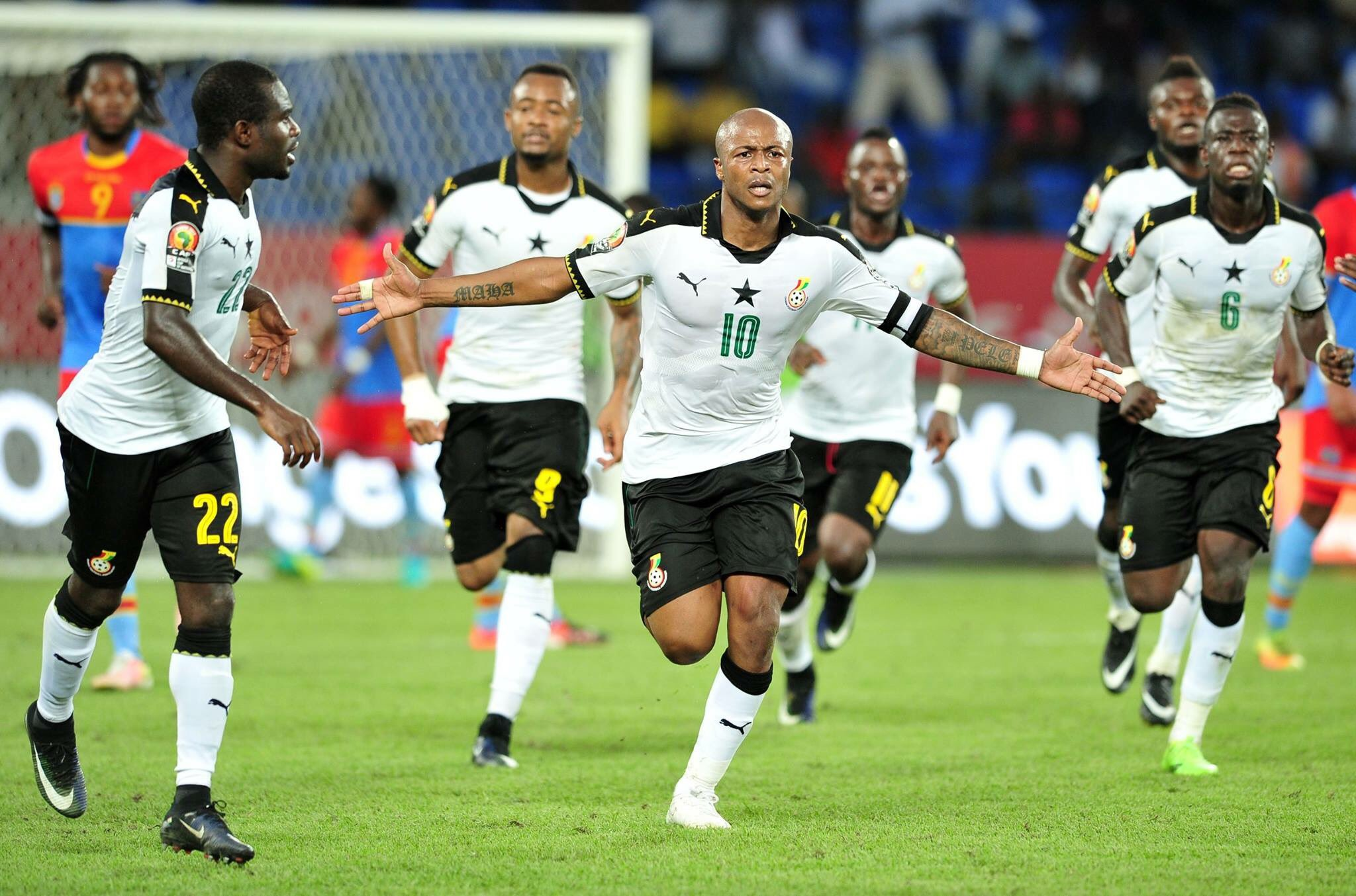 CAMEROON 1-3 GHANA: Black Stars Dominate Lions In Head-To-Heads