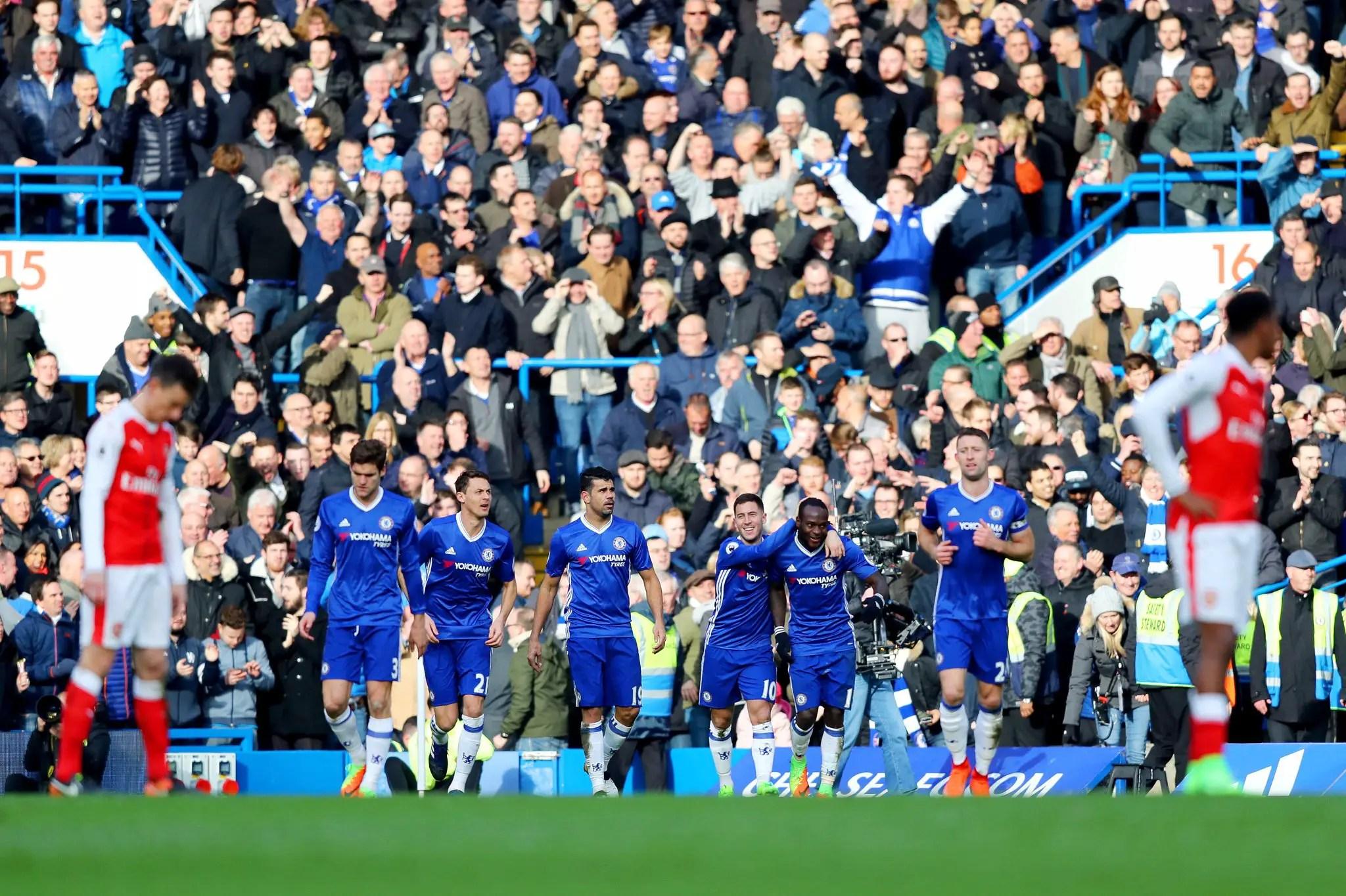 Moses Hails 'Massive' Chelsea Win Over Arsenal