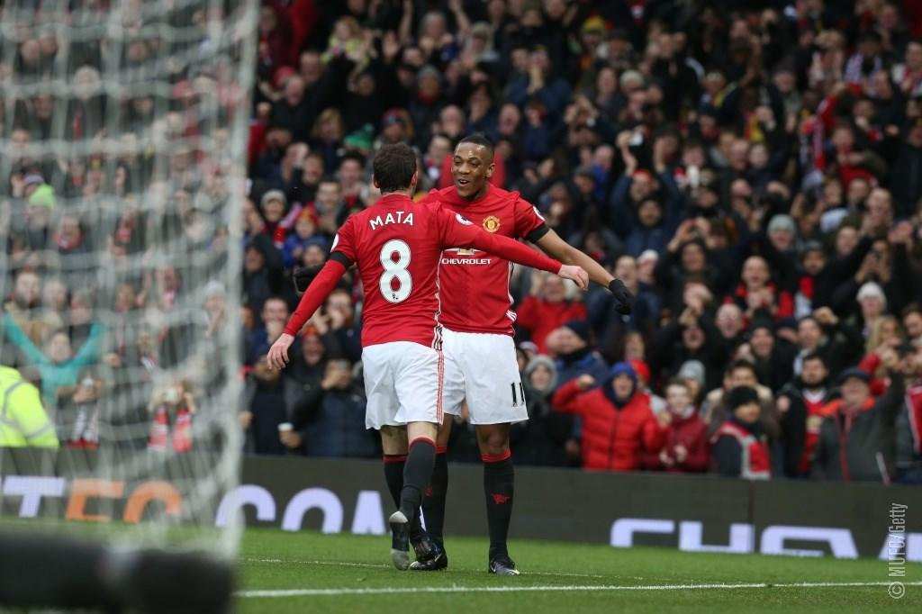 Success Subbed On As Martial, Mata Fire Man United Past Watford
