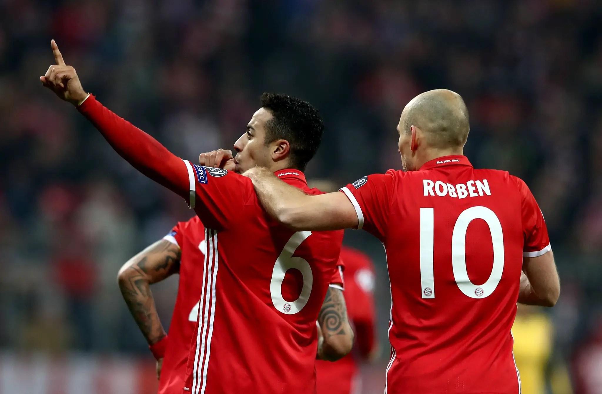 Iwobi Helpless As Bayern Send Arsenal Close To UCL Exit