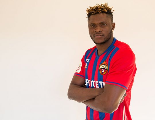 Samuel: Why I Joined CSKA Moscow