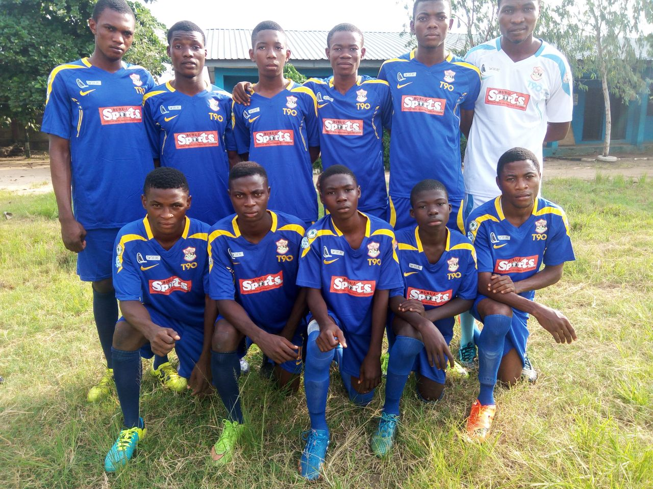 Buruj Academy Players Sorry For Young Strikers Defeat