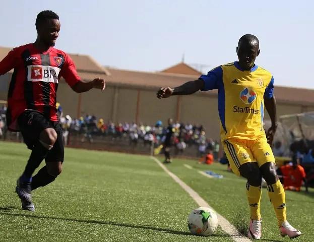 CAFCL: Akinfenwa Blames Primeiro's Loss In Uganda On Bad Pitch