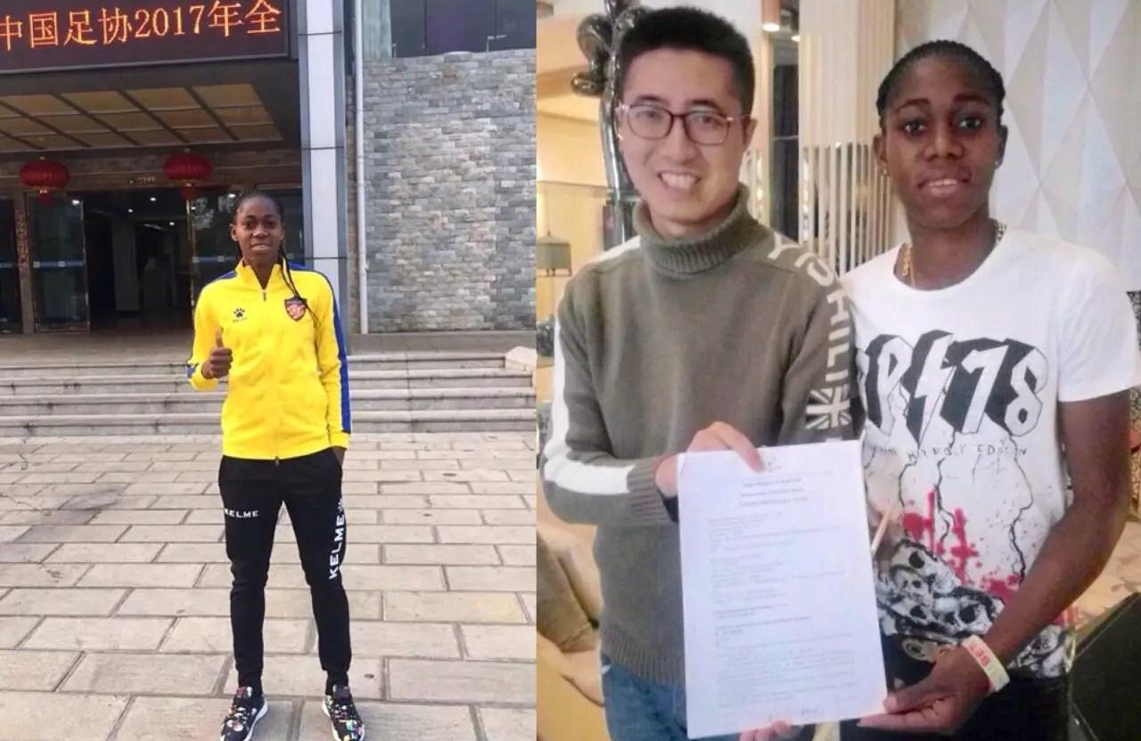 Omeruo Hails Oshoala's China Switch
